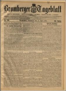 Bromberger Tageblatt. J. 28, 1904, nr 89