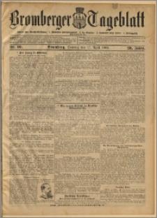 Bromberger Tageblatt. J. 28, 1904, nr 90