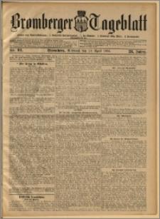 Bromberger Tageblatt. J. 28, 1904, nr 92