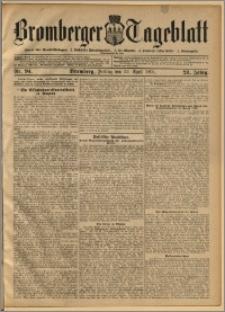 Bromberger Tageblatt. J. 28, 1904, nr 94