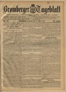 Bromberger Tageblatt. J. 28, 1904, nr 96