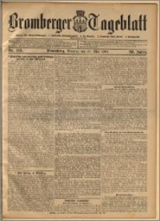 Bromberger Tageblatt. J. 28, 1904, nr 113