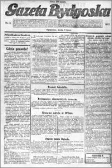 Gazeta Bydgoska 1922.07.05 R.1 nr 3