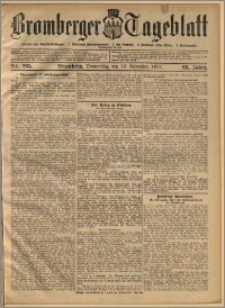 Bromberger Tageblatt. J. 28, 1904, nr 265