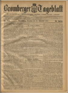 Bromberger Tageblatt. J. 28, 1904, nr 274