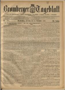 Bromberger Tageblatt. J. 28, 1904, nr 279