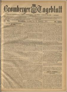 Bromberger Tageblatt. J. 28, 1904, nr 280