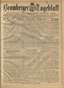 Bromberger Tageblatt. J. 28, 1904, nr 294
