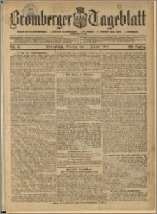 Bromberger Tageblatt. J. 29, 1905, nr 1