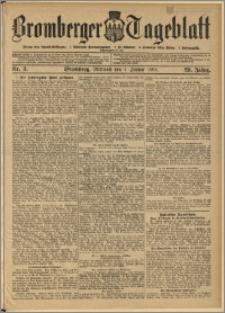 Bromberger Tageblatt. J. 29, 1905, nr 3