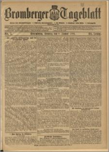 Bromberger Tageblatt. J. 29, 1905, nr 7