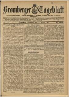 Bromberger Tageblatt. J. 29, 1905, nr 12