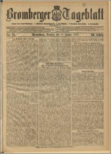 Bromberger Tageblatt. J. 29, 1905, nr 13