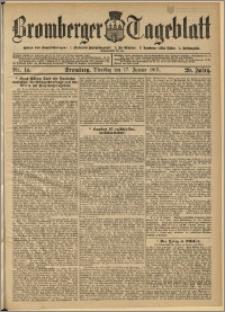Bromberger Tageblatt. J. 29, 1905, nr 14