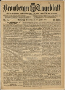 Bromberger Tageblatt. J. 29, 1905, nr 16