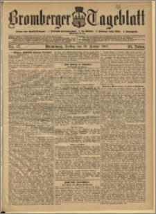 Bromberger Tageblatt. J. 29, 1905, nr 17