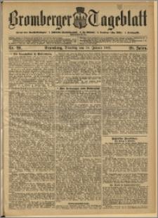 Bromberger Tageblatt. J. 29, 1905, nr 20