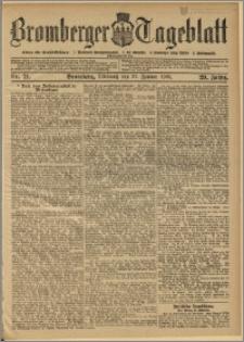 Bromberger Tageblatt. J. 29, 1905, nr 21