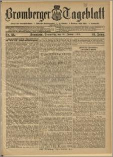 Bromberger Tageblatt. J. 29, 1905, nr 22