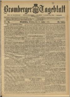 Bromberger Tageblatt. J. 29, 1905, nr 26