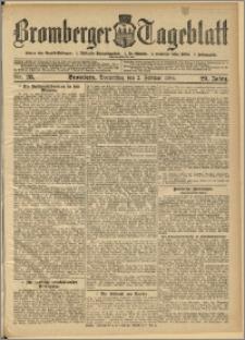 Bromberger Tageblatt. J. 29, 1905, nr 28
