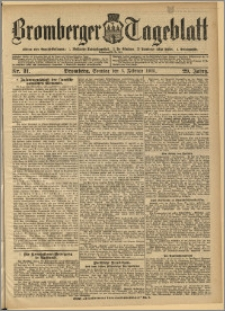 Bromberger Tageblatt. J. 29, 1905, nr 31