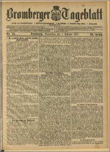 Bromberger Tageblatt. J. 29, 1905, nr 34