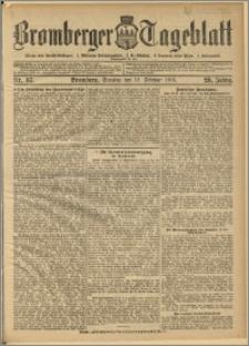 Bromberger Tageblatt. J. 29, 1905, nr 37