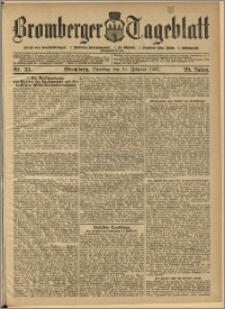 Bromberger Tageblatt. J. 29, 1905, nr 38