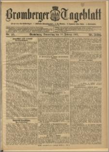 Bromberger Tageblatt. J. 29, 1905, nr 40