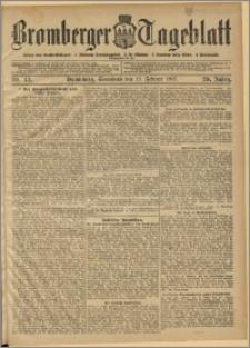 Bromberger Tageblatt. J. 29, 1905, nr 42