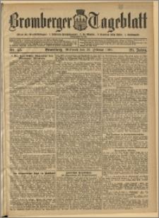 Bromberger Tageblatt. J. 29, 1905, nr 45