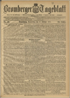 Bromberger Tageblatt. J. 29, 1905, nr 46