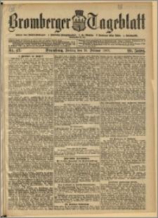 Bromberger Tageblatt. J. 29, 1905, nr 47