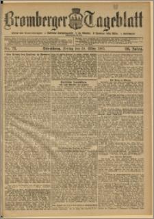 Bromberger Tageblatt. J. 29, 1905, nr 71