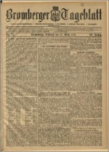 Bromberger Tageblatt. J. 29, 1905, nr 75