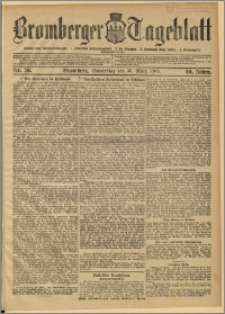 Bromberger Tageblatt. J. 29, 1905, nr 76