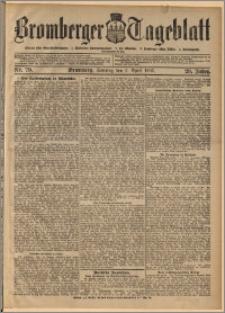 Bromberger Tageblatt. J. 29, 1905, nr 79