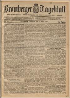 Bromberger Tageblatt. J. 29, 1905, nr 81