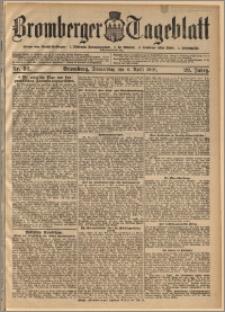 Bromberger Tageblatt. J. 29, 1905, nr 82