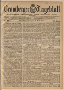 Bromberger Tageblatt. J. 29, 1905, nr 83