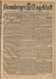 Bromberger Tageblatt. J. 29, 1905, nr 85