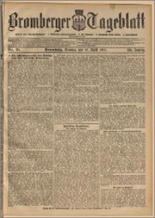 Bromberger Tageblatt. J. 29, 1905, nr 91