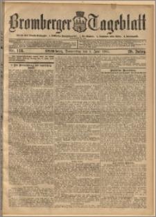 Bromberger Tageblatt. J. 29, 1905, nr 128