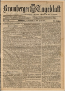 Bromberger Tageblatt. J. 29, 1905, nr 135