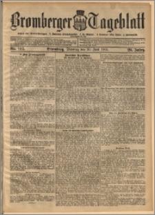 Bromberger Tageblatt. J. 29, 1905, nr 142