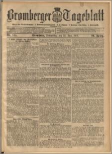 Bromberger Tageblatt. J. 29, 1905, nr 144