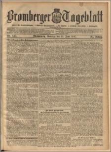 Bromberger Tageblatt. J. 29, 1905, nr 147