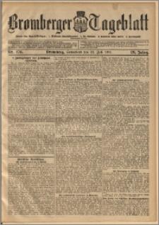 Bromberger Tageblatt. J. 29, 1905, nr 176