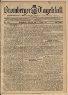 Bromberger Tageblatt. J. 29, 1905, nr 197